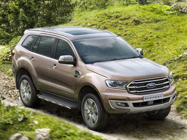 รถ SUV New Ford Everest
