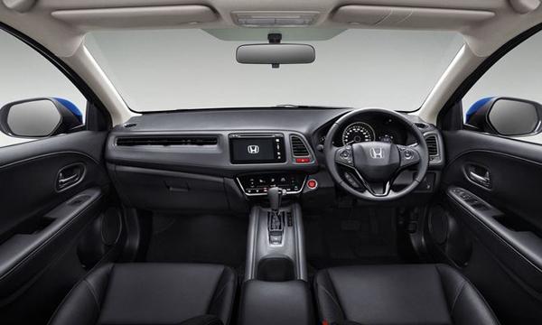 ภายในห้องโดยสาร Honda HR-V 2019