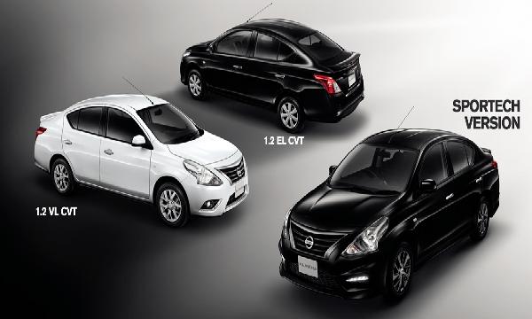 Nissan Almera เวอร์ชั่นต่างๆ