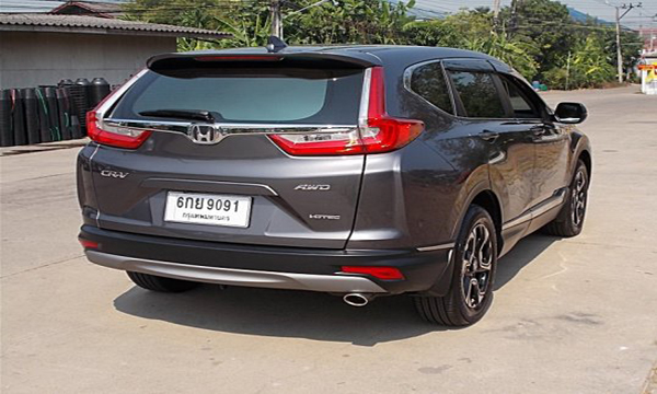 ด้านหลัง Honda CR-V 1.6 DT EL AWD ปี 2017