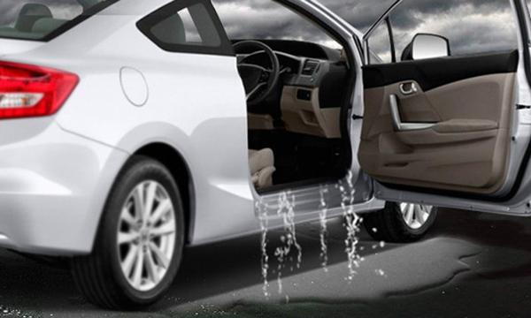 แนะนำวิธีการแก้ปัญหาน้ำเข้ารถ