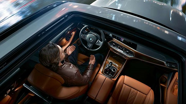 ภายในห้องโดยสาร The All-new BMW X5 (2019)