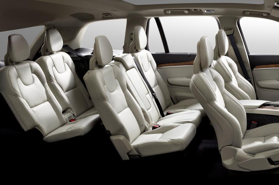 เบาะนั่ง Volvo XC90