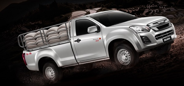 ISUZU D-MAX BLUE POWER SPARK