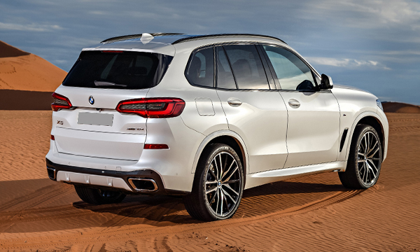 BMW X5 เปิด-ปิด ประตูท้ายด้วยระบบไฟฟ้า