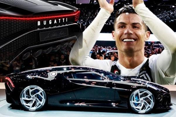 คริสเตียโน โรนัลโด ควักเงินกว่า 400 ล้านบาท เพื่อเป็นเจ้าของ Bugatti La Voiture Noire 2019