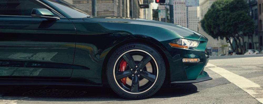 เสริมความเป็นสปอร์ตให้กับ Ford Mustang BULLITT 2019 ด้วยล้ออัลลอยแม็ค 5 ก้าน ขนาด 19 นิ้ว