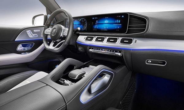 ภายใน Mercedes-Benz GLE 2019