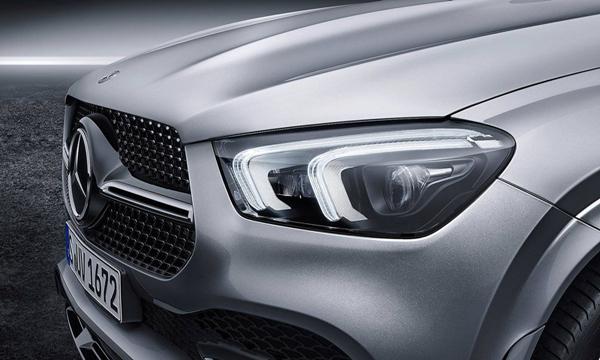 Mercedes-Benz GLE 2019 ติดตั้งไฟหน้าแบบ LED