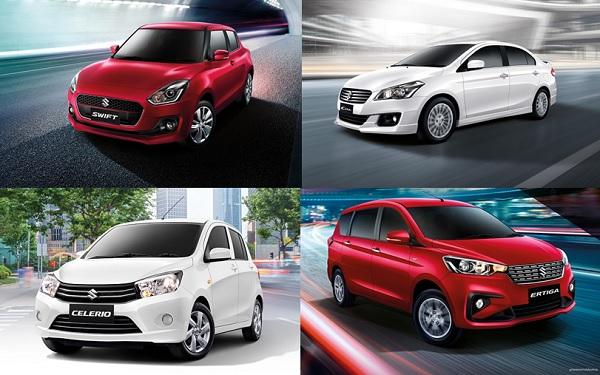 """""""ออกรถ SUZUKI ทุกรุ่นวันนี้รับส่วนลดอุปกรณ์ตกแต่งมูลค่าสูงสุด 60,000 บาท"""""""