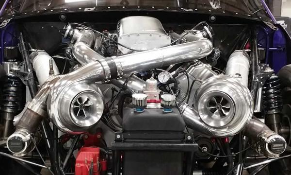 เครื่องยนต์เทอร์โบ Turbocharger