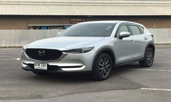 Mazda CX-5 XDL 2018 สีบรอนซ์-เงิน
