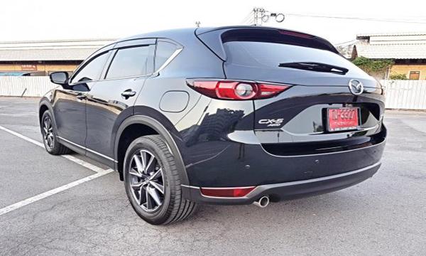 ด้านหลัง Mazda CX-5 XDL ปี 2018