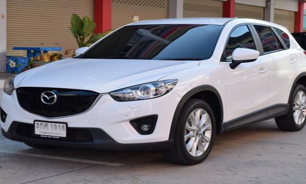 Mazda CX-5 2.2 XDL AT ปี 2015 สีขาว