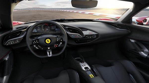 Ferrari SF90 Stradale มาพร้อมกับอุปกรณ์อำนวยความสะดวกที่ทันสมัย