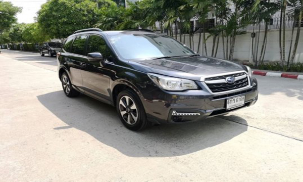 Subaru Forester i-L ปี 2017 สีดำ