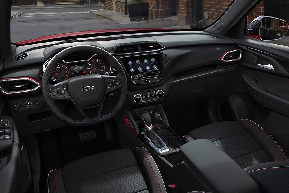 ภาพในของ Chevrolet Trailblaze 2020  เวอร์ชั่น USA