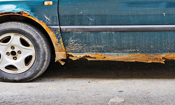 เผยเทคนิคกำจัดคราบสนิมบนรถ