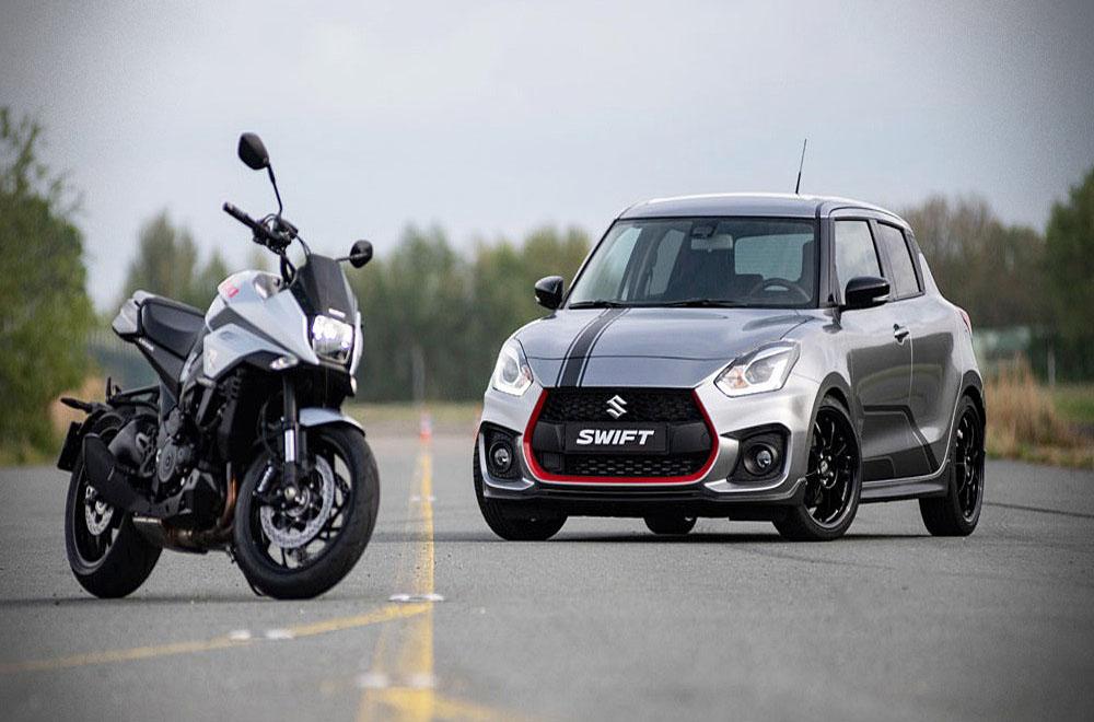 Suzuki Swift Sport Katana 2019 ถูกออกแบบภายใต้แนวคิดที่อ้างอิงจาก Suzuki Katana บิ๊กไบค์จากยุค 80 ให้กลับมาโลดแล่นอีกครั้งโดยจัดจำหน่ายเป็นรูปแบบแพ็คคู่ในจำนวนจำกัดเพียง 30 คันเท่านั้น