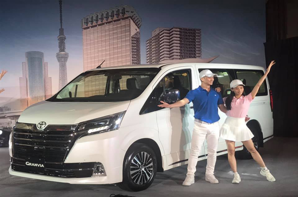Toyota Granvia 2020 เปิดตัวทำตลาดเป็นครั้งแรกในประเทศไต้หวันถือเป็นการตอบโจทย์รถในรูปแบบครอบครัวที่ปัจจุบันได้รับความนิยมเป็นอย่างมากอีกทั้งยังสามารถเป็นรถตู้สำหรับผู้บริหารได้อีกด้วย