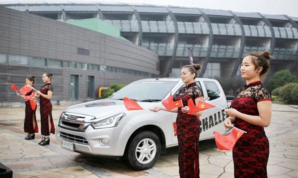 D-MAX ทดสอบขับประหยัดน้ำมันในจีน
