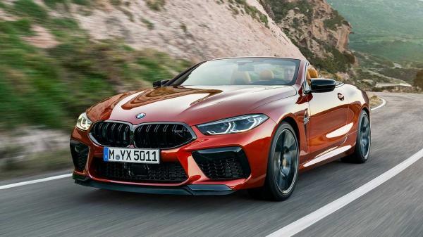 BMW M8  2020 เปิดประทุน