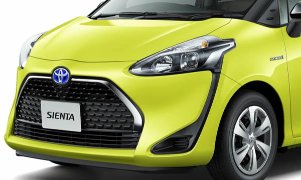 Toyota Sienta ไมเนอร์เชนจ์ 2019