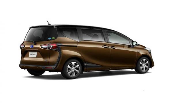 Toyota Sienta มาพร้อมไฟท้ายดีไซน์พิเศษ