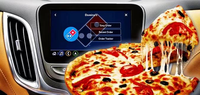 Chevrolet จับมือ Domino's pizza