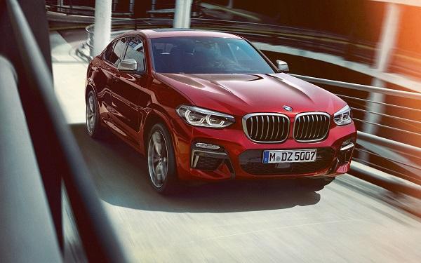 ALL NEW BMW X4 2019 ได้รับการออกแบบและปรับเปลี่ยนดีไซน์ถูกหลักอากาศพลศาสตร์