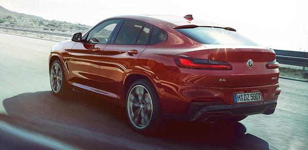 ALL NEW BMW X4 2019 มาพร้อมกับเครื่องยนต์ดีเซล ขนาด 1995 ซีซี