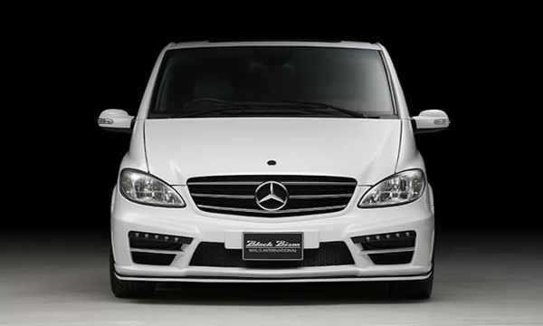 Mercedes-Benz Vito กับชุดแต่ง Wald Black Bison Body Kit