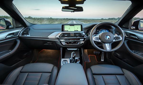 ภายใน BMW X4 2019 เรียบหรูสุดพรีเมียม