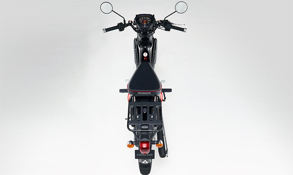 โครงสร้างของ Honda Cross Cub