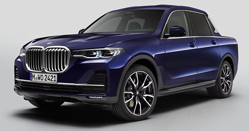 BMW X7 Pick-up Concept
