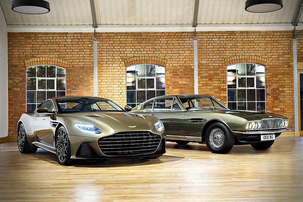 Aston Martin DBS Superleggera Special Edition รุ่่นนี้ได้แรงบันดาลใจจาก Aston Martin DBS ปี 1969 ในภาพยนตร์ พยัคฆ์ร้าย 007 ชุดที่ 6 On Her Majesty's Secret Service กับบทบาทพาหนะคู่ใจเจมส์ บอนด์ 007