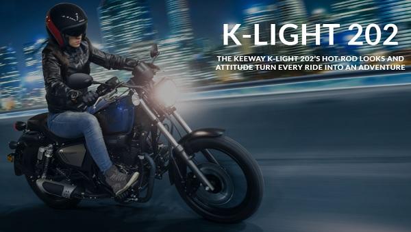 Keeway K-Light 202 ปี 2019 มินิครุยเซอร์ จากแดนมังกร สไตล์อเมริกัน – เรโทร