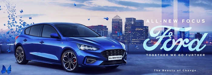 ALL NEW FORD FOCUS ACTIVE 2019-2020