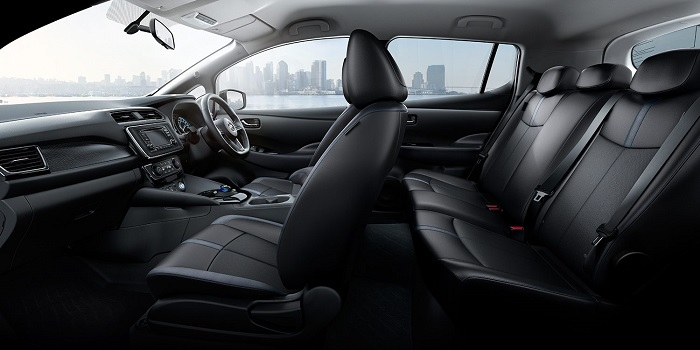 ภายในห้องโดยสาร Nissan LEAF 2019 – 2020