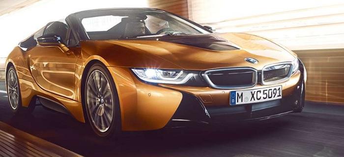 BMW i8 Roadster 2019-2020