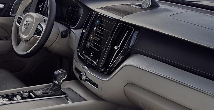 ภายในห้องโดยสารของ Volvo XC60 2019-2020