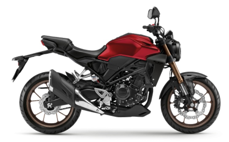 สี Honda CB300R 2019