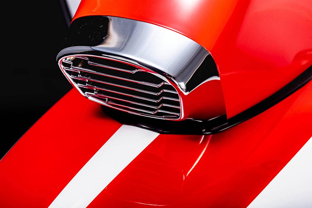 ส่วนเครื่องยนต์ของ  Scomadi TT125i และ Scomadi TT200i The Who Limited Edition จะเหมือนกับรุ่นปกติคือ รุ่น TT125i จะมีขนาด 124.6 ซี.ซี. 4 จังหวะ จ่ายเชื้อเพลิงด้วยหัวฉีด ระบายความร้อนด้วยอากาศ