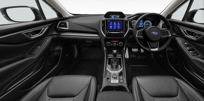 ภายในห้องโดยสารของ All new Subaru Forester 2019-2020