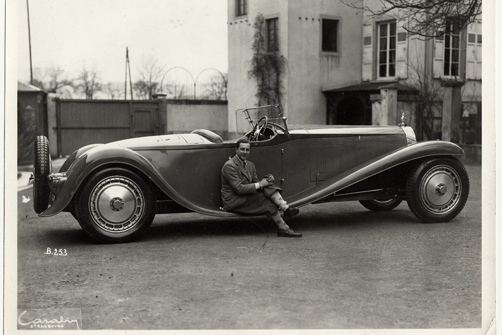 Bugatti EB110 รถต้นแบบของBugatti Centodieci