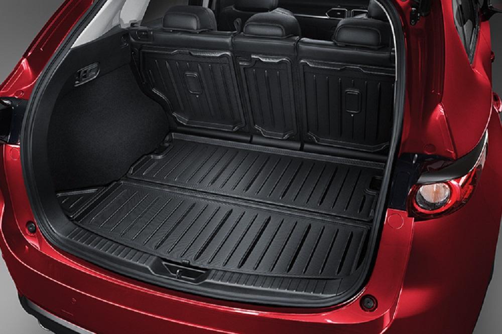 Luggage Tray (Hard type) ชุดแผ่นกันกระแทกท้ายรถ (6 ชิ้น) หมายเลขอะไหล่ : K123V0360 ราคา 6,000 บาท (ไม่รวม VAT)