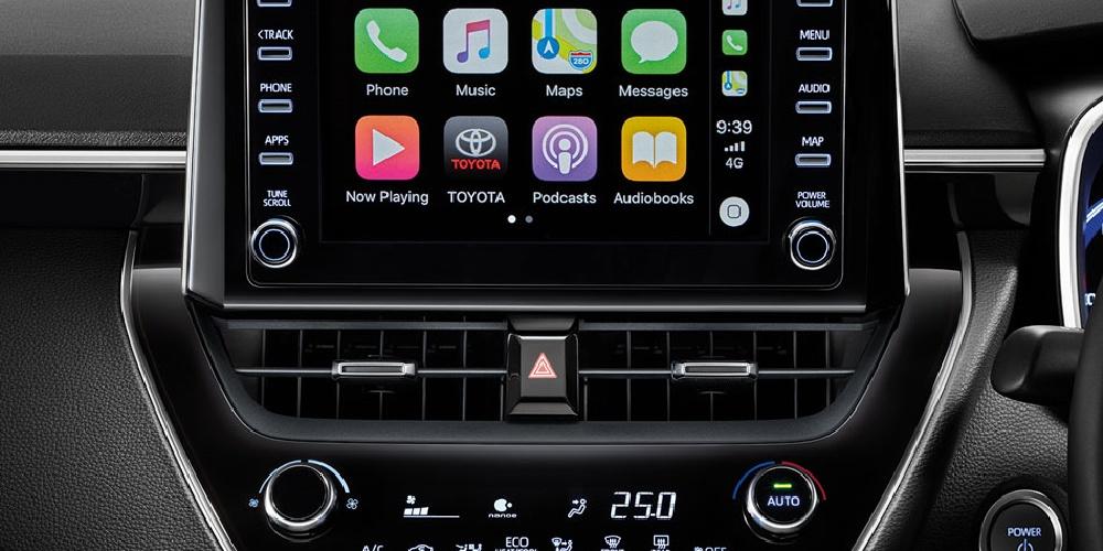 จอทัชสกรีน 8 นิ้ว พร้อม Apple Carplay