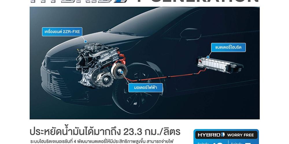 เทคโนโลยี Hybrid ใหม่ Generation ที่ 4