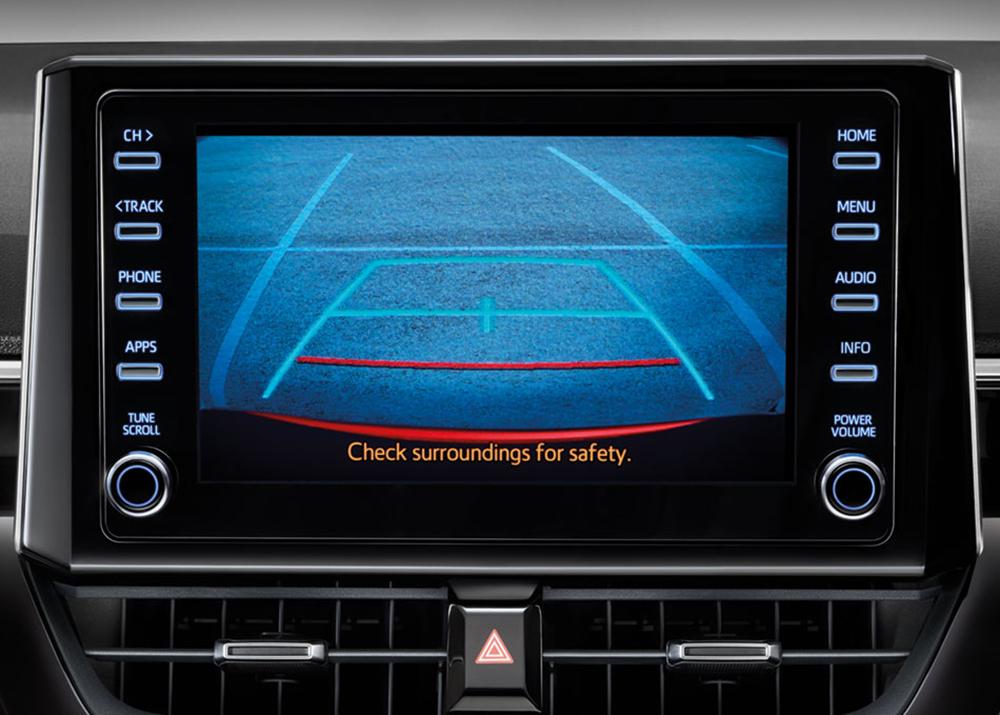จอภาพ Touch Screen  7 นิ้วพร้อมช่องต่อ Aux, Bluetooth, ระบบเชื่อมต่อโทรศัพท์