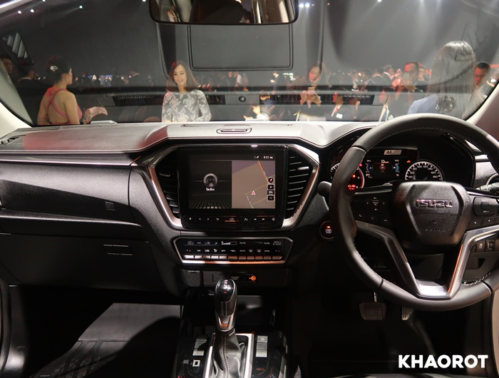 ภายในของ All New Isuzu D-Max 2020
